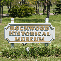 Rockwood City Museum Sign